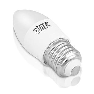 c08c44bb165 Whitenergy LED bulb | 7xSMD2835| C37 | E27 | 3W | 230V |warm white| milky
